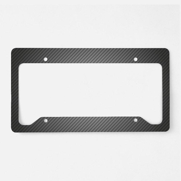 Carbon Fiber License Plate Holder