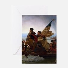 Washington Crossing the Delaware Greeting Cards
