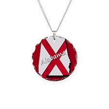 Alabama state flag Necklace