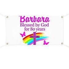 LOVELY 80TH Banner