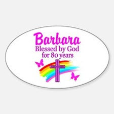 LOVELY 80TH Decal