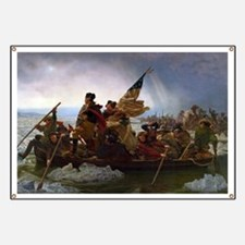 Washington Crossing the Delaware Banner