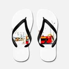 Sightseeing Flip Flops