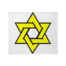Cute Star of david Throw Blanket
