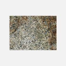 boulder closeup 5'x7'Area Rug