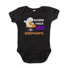 1st Halloween (ghost) Baby Bodysuit