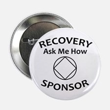 "Recovery: Ask Me How. 2.25"" Button (10 Pack)"