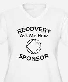 Recovery: Ask Me How. Sponsor. Plus Size T-Shirt