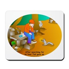 Geocaching Blues Mousepad