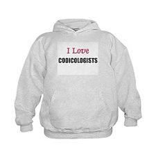 I Love CODICOLOGISTS Hoodie