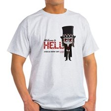 American Horror Story Chibi Papa Leg T-Shirt