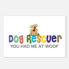 Dog Rescuer Postcards (Package of 8)