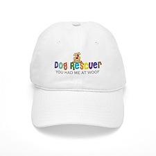 Dog Rescuer Baseball Cap