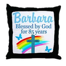 JOYOUS 85TH Throw Pillow