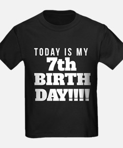 Today Is My 7th Birthday T-Shirt