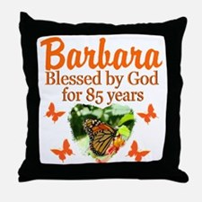 JOYOUS 85TH Throw Pillow