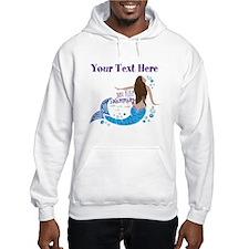 Just Keep Swimming Mermaid Hoodie