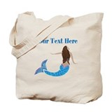 Mermaid Regular Canvas Tote Bag