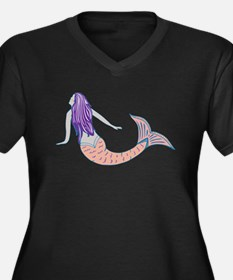 Mermaid Plus Size T-Shirt