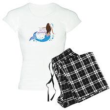 Just Keep Swimming Mermaid Pajamas