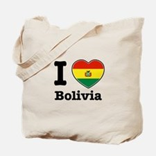 I love Bolivia Tote Bag
