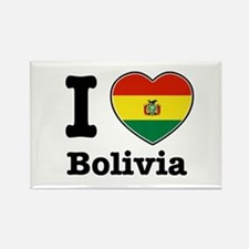 I love Bolivia Rectangle Magnet