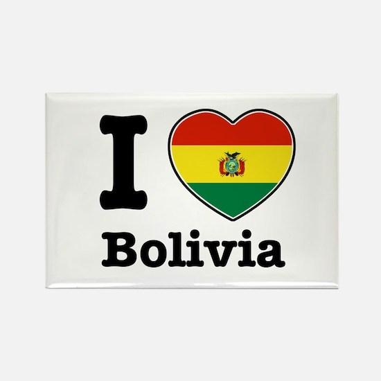 I love Bolivia Rectangle Magnet