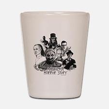 American Horror Story Characters Shot Glass