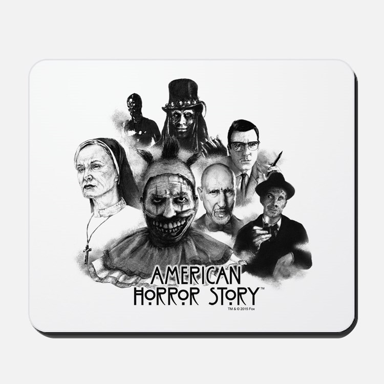 American Horror Story Characters Mousepad