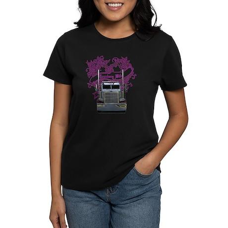 Truckers Wife Women's Dark T-Shirt