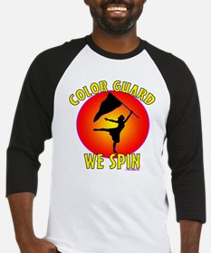 Color Guard - We Spin Baseball Jersey
