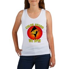 Color Guard - We Spin Women's Tank Top
