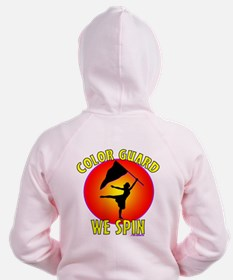 Color Guard - We Spin Zip Hoodie