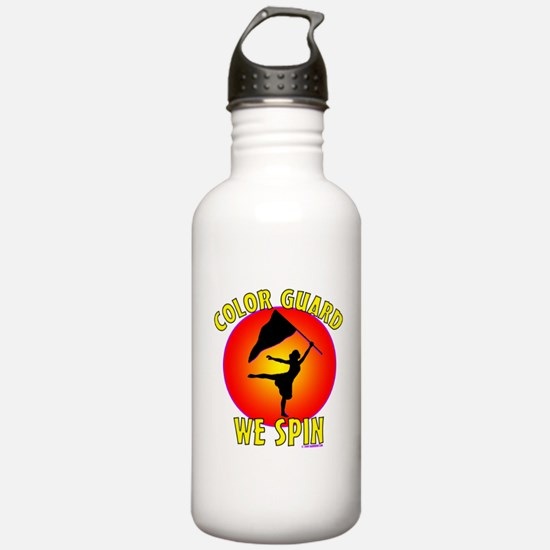 Color Guard - We Spin Water Bottle