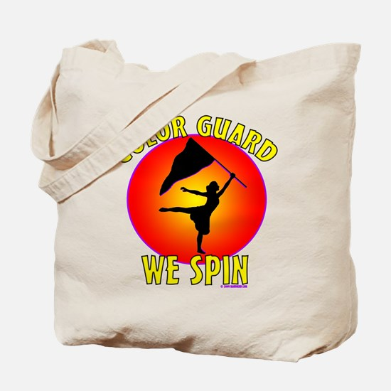 Color Guard - We Spin Tote Bag