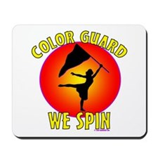 Color Guard - We Spin Mousepad