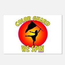 Color Guard - We Spin Postcards (Package of 8)