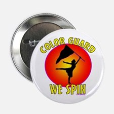 "Color Guard - We Spin 2.25"" Button (10 pack)"