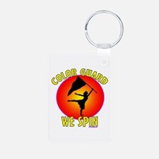 Color Guard - We Spin Keychains