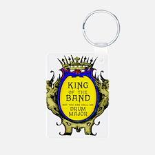 Drum Major: King of the Ba Aluminum Photo Keychain