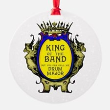 Drum Major: King Of The Band Ornament