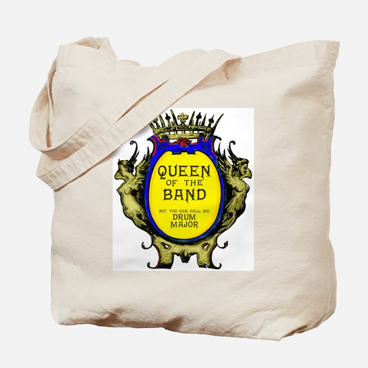Drum Major: Queen of the Band Tote Bag