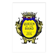 Drum Major: Queen of the Postcards (Package of 8)