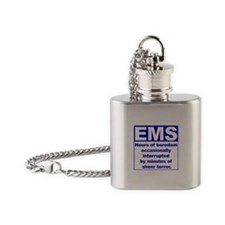 EMS - Boredom... Flask Necklace