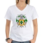Yermo Family Crest Women's V-Neck T-Shirt