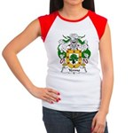 Yermo Family Crest Women's Cap Sleeve T-Shirt