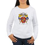 Yebra Family Crest Women's Long Sleeve T-Shirt