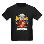 Yebra Family Crest Kids Dark T-Shirt