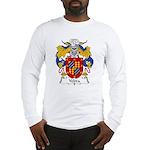 Yebra Family Crest Long Sleeve T-Shirt