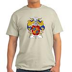 Yebra Family Crest Light T-Shirt